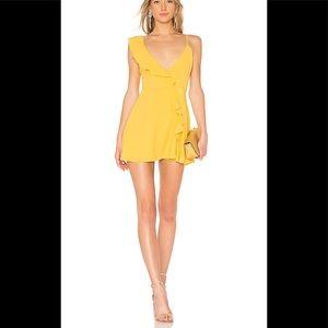 LPA Asymmetrical ruffle dress